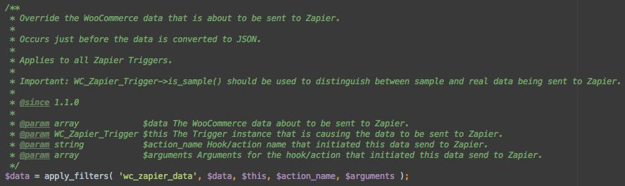 Zapier Filter Example